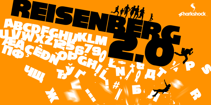 Reisenberg 2.0 Font poster