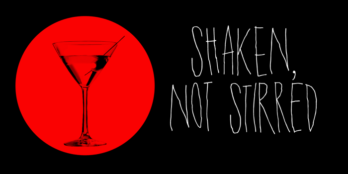 DK Shaken Not Stirred Font