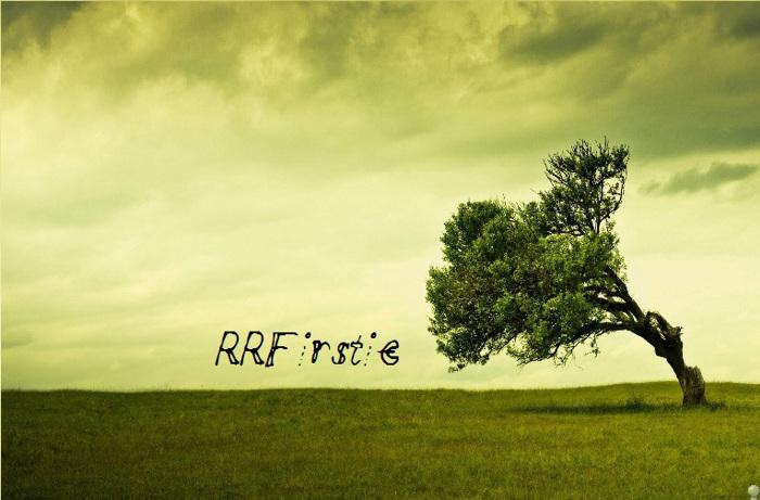 RRFirstie Font poster
