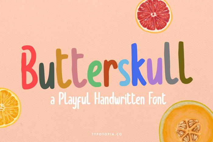Butterskull Font
