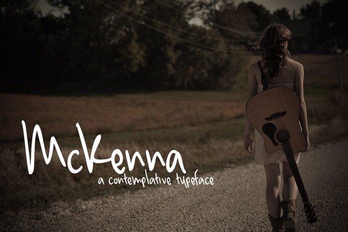 McKenna Font poster
