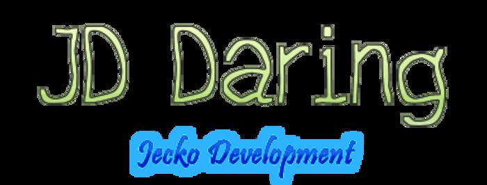JD Daring Font poster