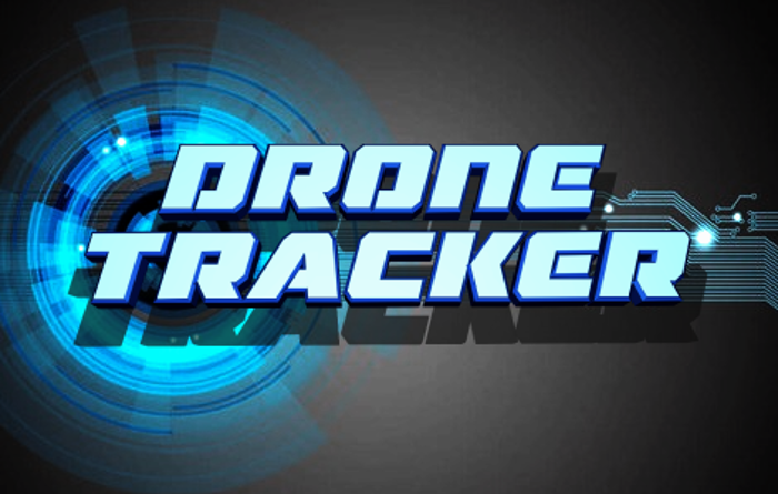 Drone Tracker Font poster
