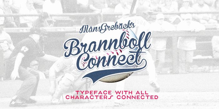Brannboll Connect Font poster