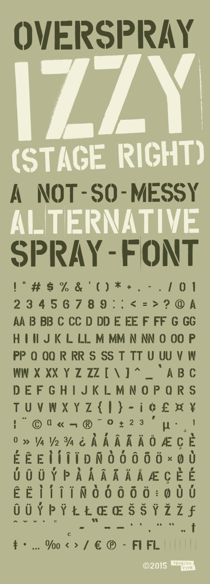 Overspray poster