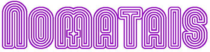 Nomitais Font poster