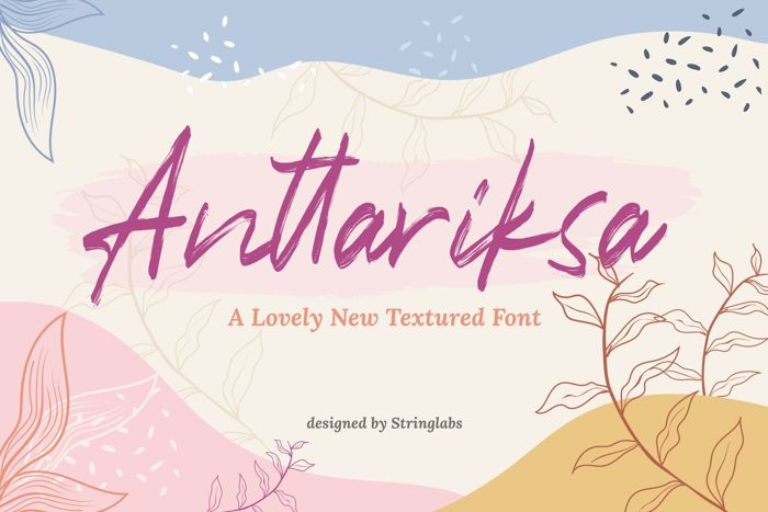 Anttariksa Font poster
