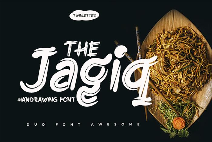 Jagiq Font poster