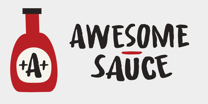 Awesome Sauce DEMO Font poster