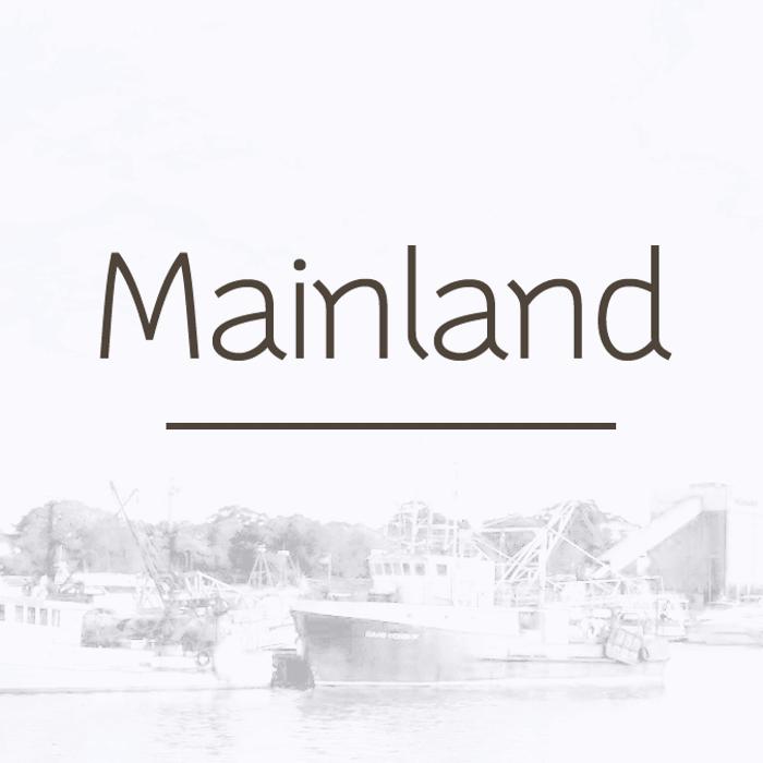 Mainland poster