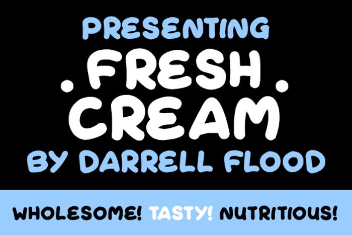 Fresh Cream Font