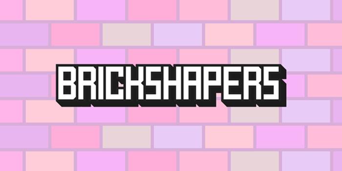 BrickShapers Font poster