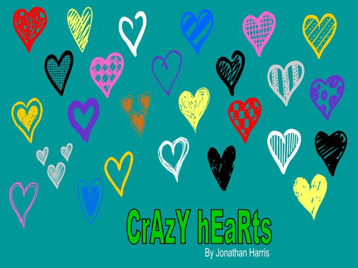 Crazy Hearts Font poster