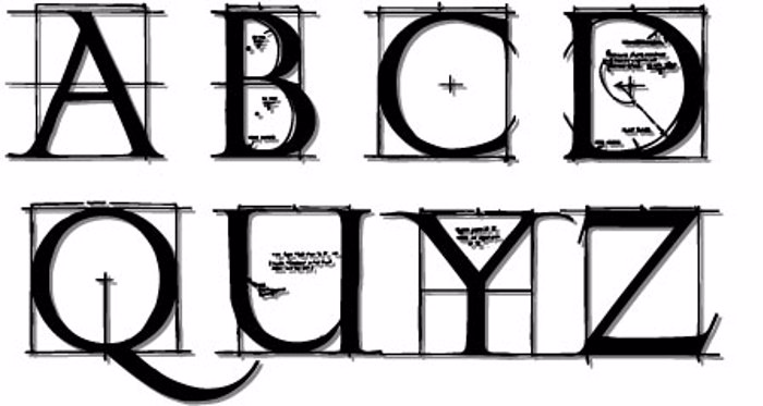 RomanGridCaps Font poster