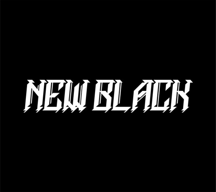NEWBLACKDEMO Font poster