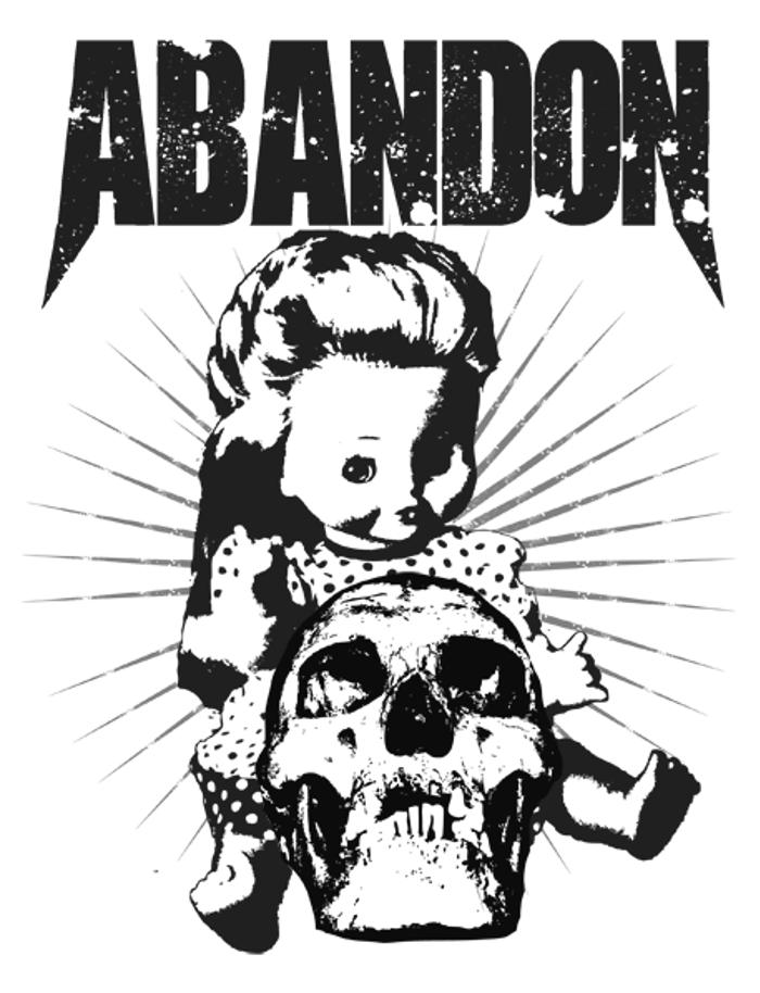 AbandoN Font poster