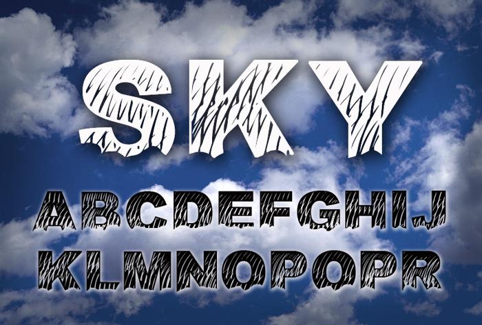 Sky Font
