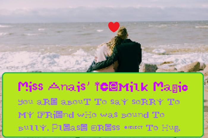 Miss Anais' Icemilk Magic Font poster