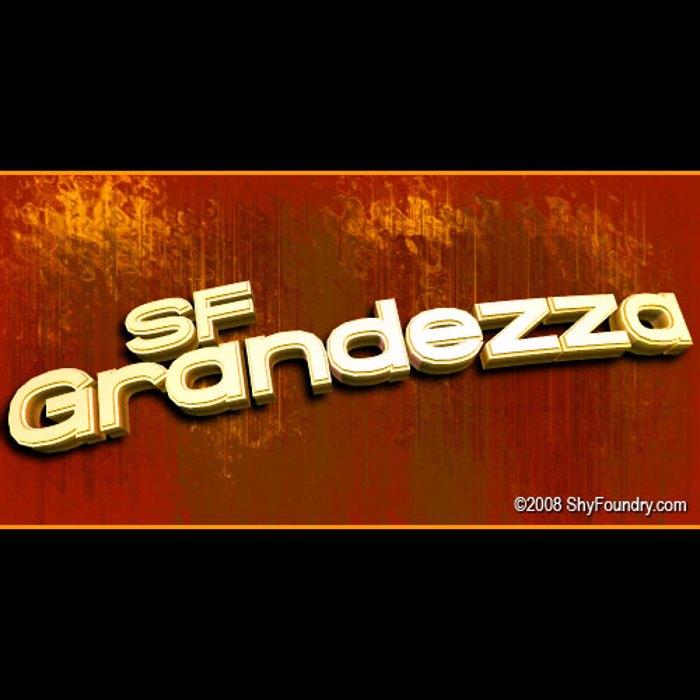 SF Grandezza Font poster