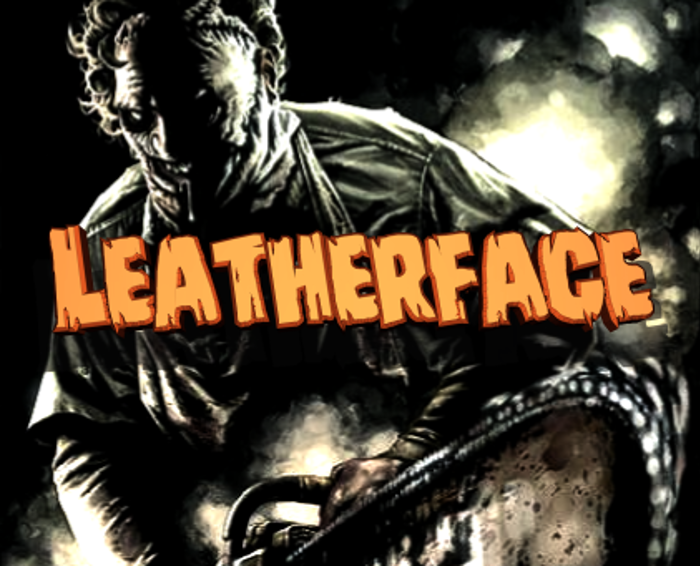 Leatherface Font poster