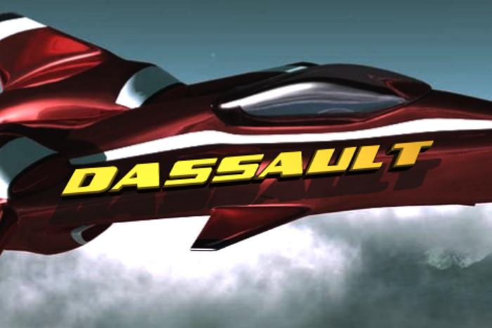 Dassault Font poster