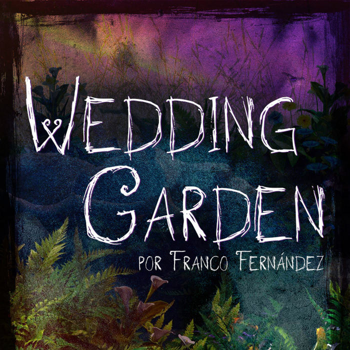 Wedding Garden Font poster