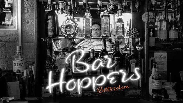 Bar Hoppers Demo Font poster