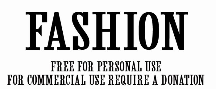 CF Fashion Font