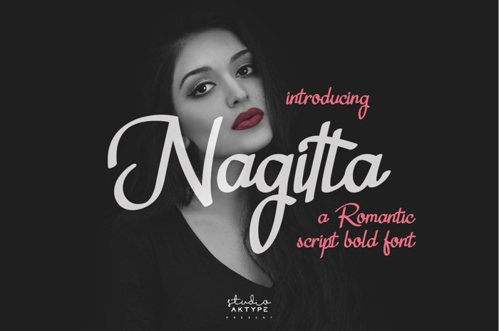 Nagitta Font poster