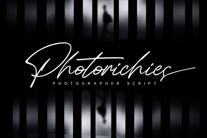 Photorichies Font poster