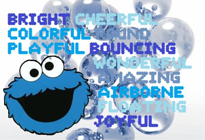 Bubble Font poster
