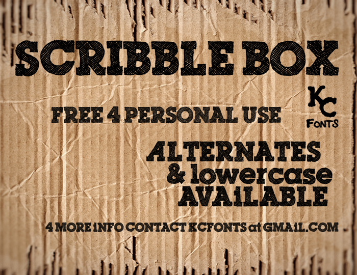 Scribble Box poster