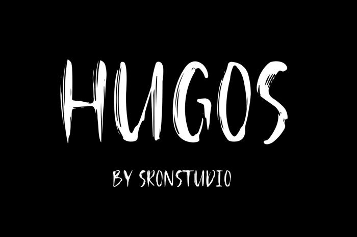 Hugos Font poster