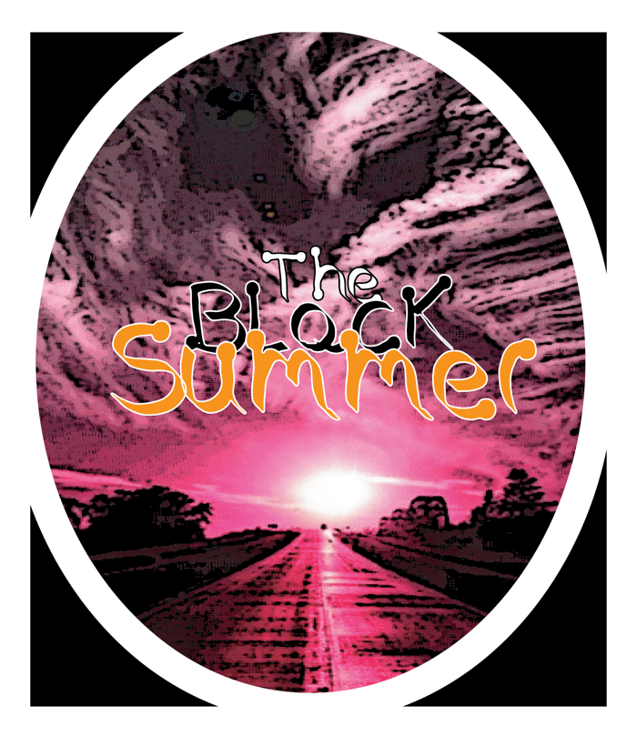 The Black Summer Font poster
