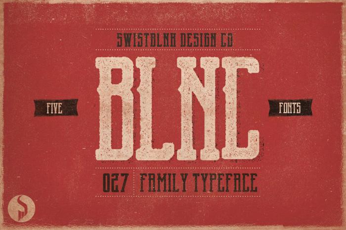 Garado Blnco Font poster