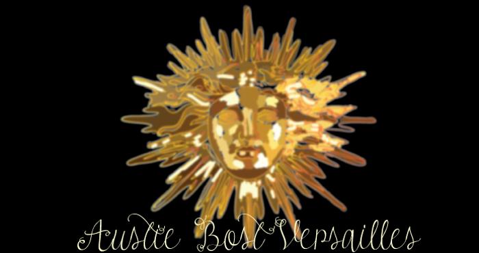 Austie Bost Versailles Font poster