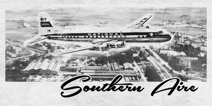 Southern Aire Font poster