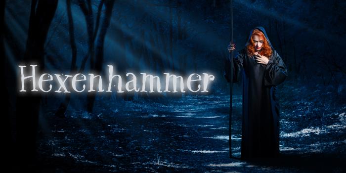 DK Hexenhammer Font poster