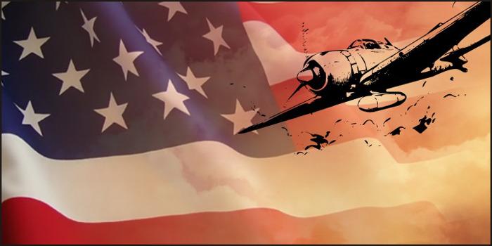 WarIIWarplanes Font poster