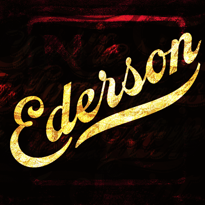 Ederson Font poster
