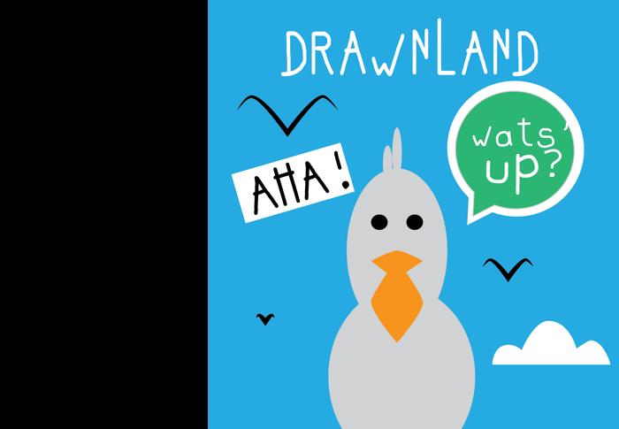 drawnland Font poster