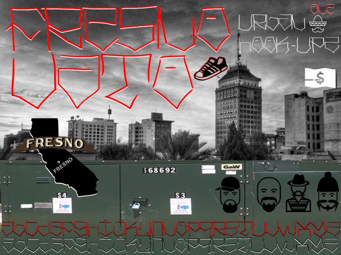 Fresno Vato Font poster
