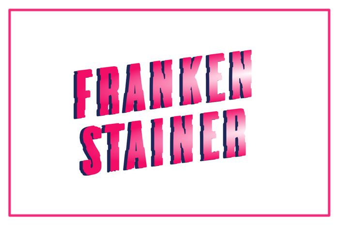 Frankenstainer Font poster