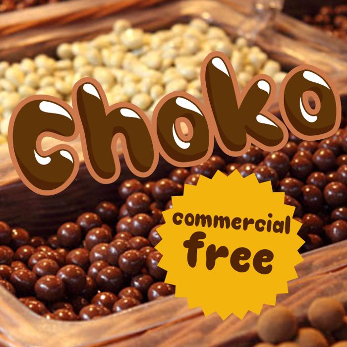 Choko Font poster