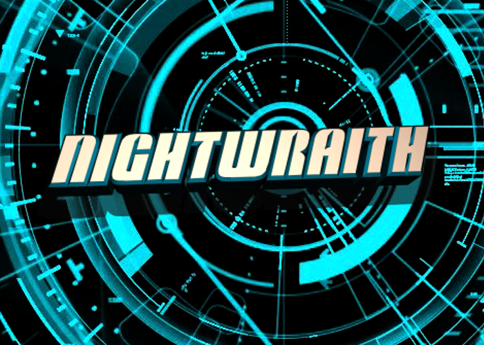 Nightwraith Font poster