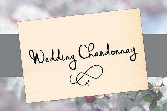 Wedding Chardonnay Font
