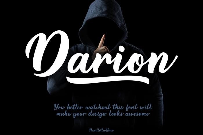 Darion Font poster