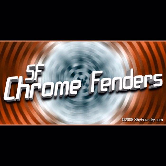 SF Chrome Fenders Font poster