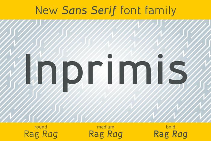 Inprimis Font poster