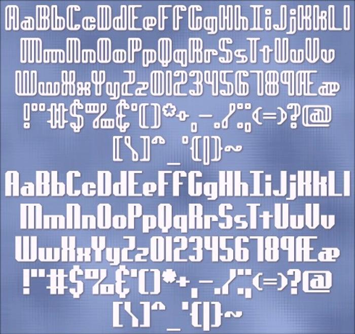 genotype BRK Font poster